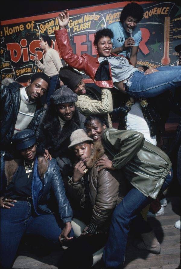 Rap Flash Group Posing