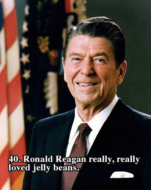 Reagan Jelly Beans Portrait