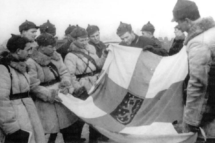 Red Army Finnish Flag