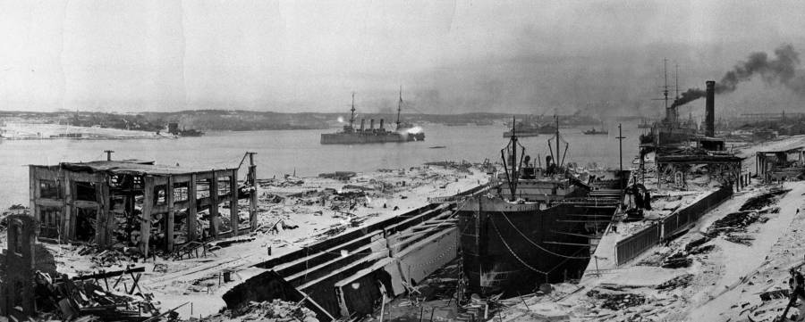 Ruins Of Harbor