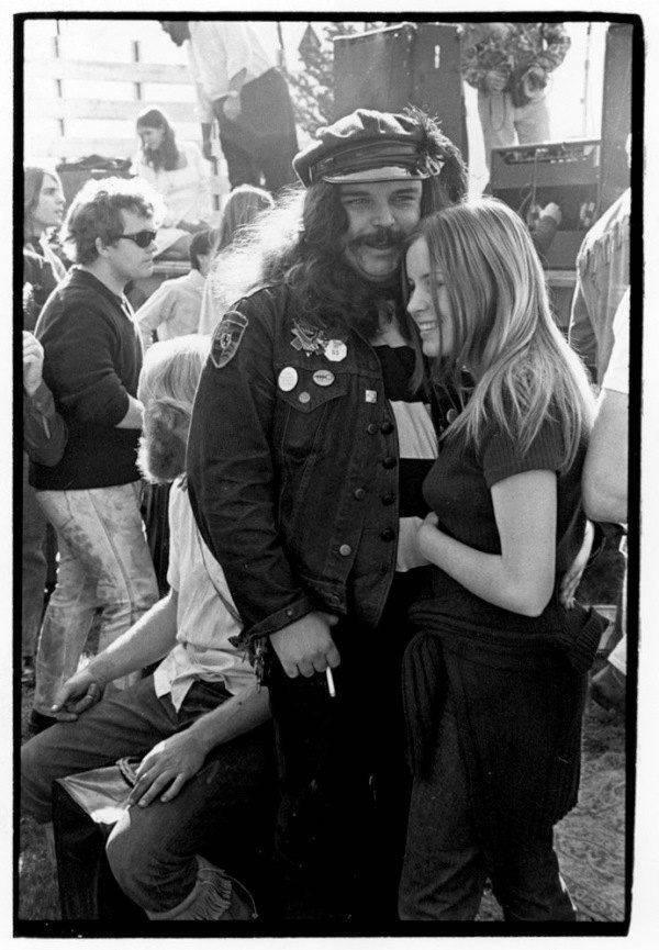 San Francisco Hippies Biker