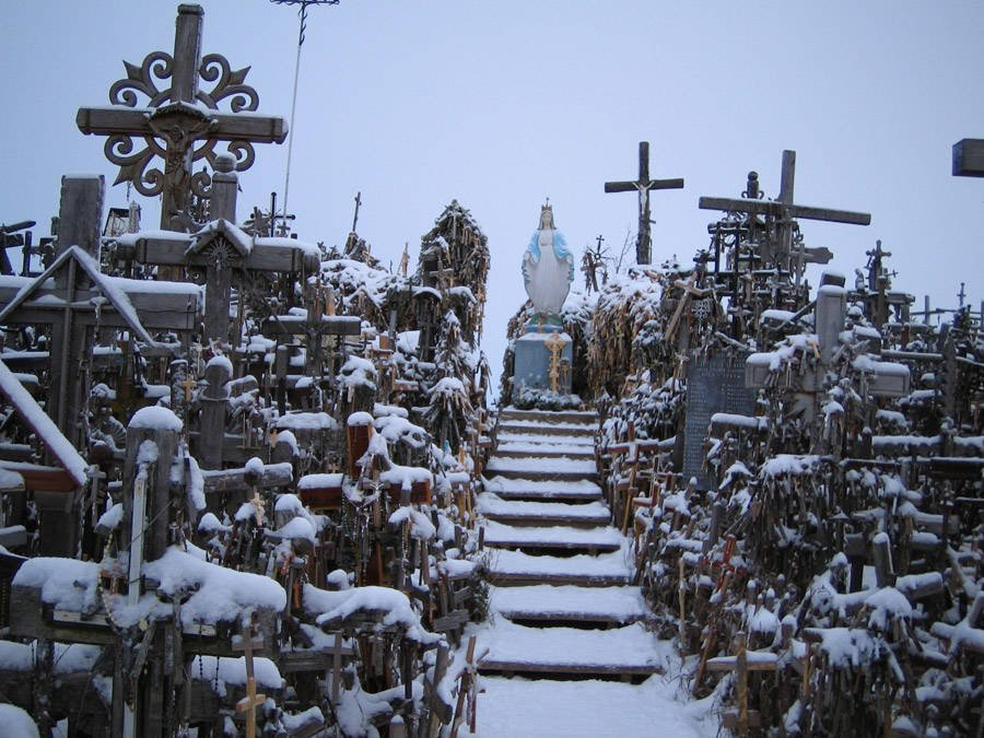 Snow Crosses