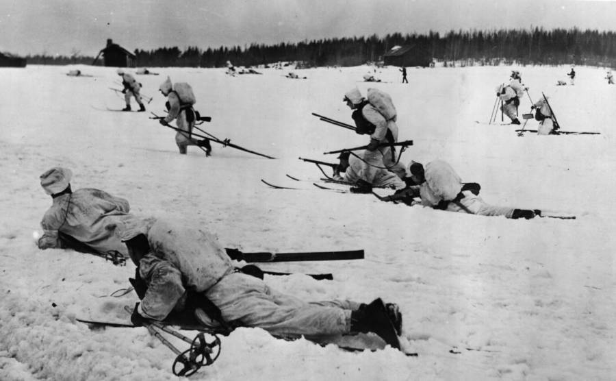 Snow troops of Winter War