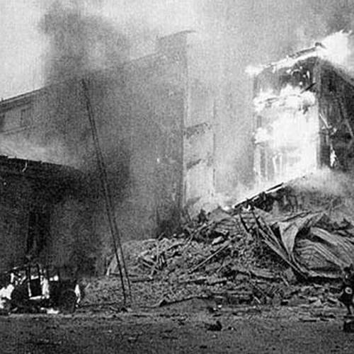 Soviet bombs in Helsinki