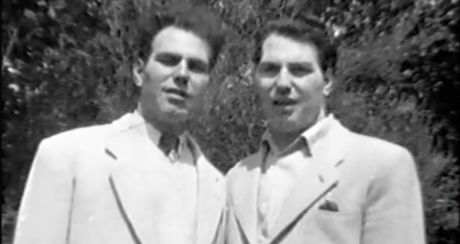 Stohr And Yufe As Young Men