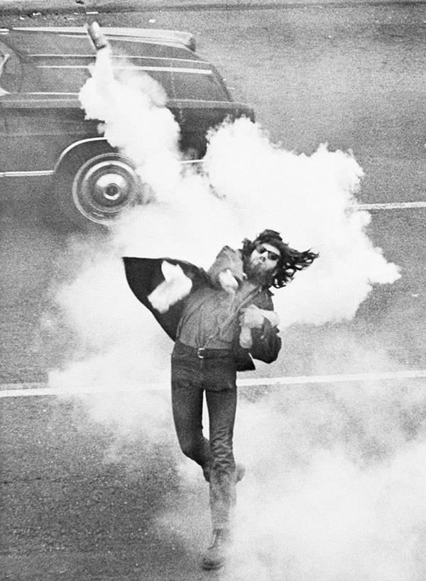 Student Strike Tear Gas