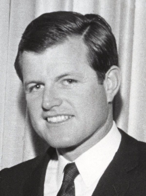 Ted Kennedy Portrait