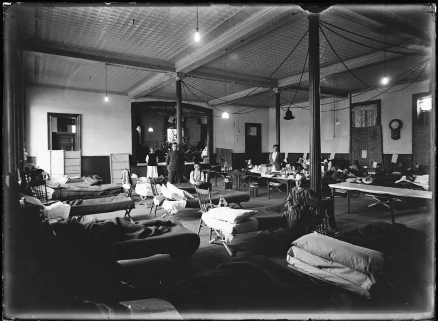 Temporary Relief Hospital