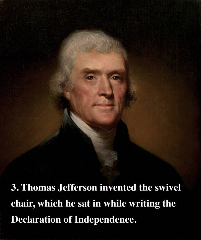 Thomas Jefferson Fun Fact