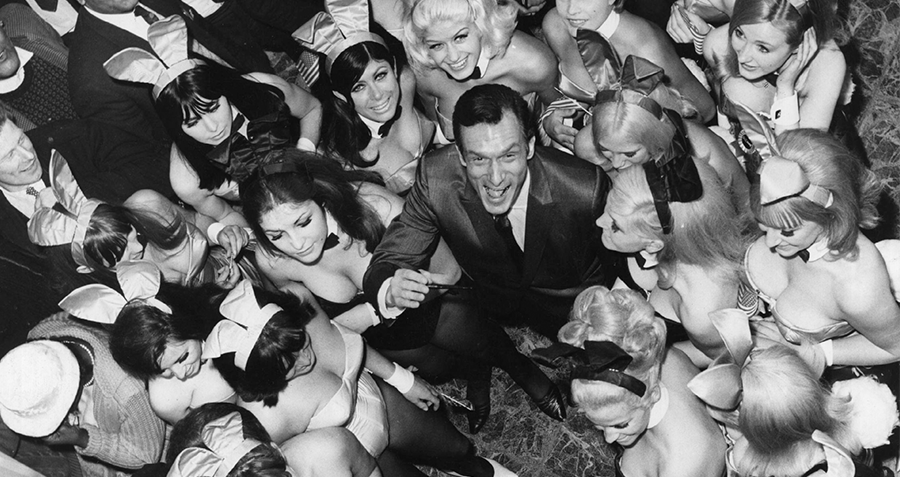 Hefner With Women