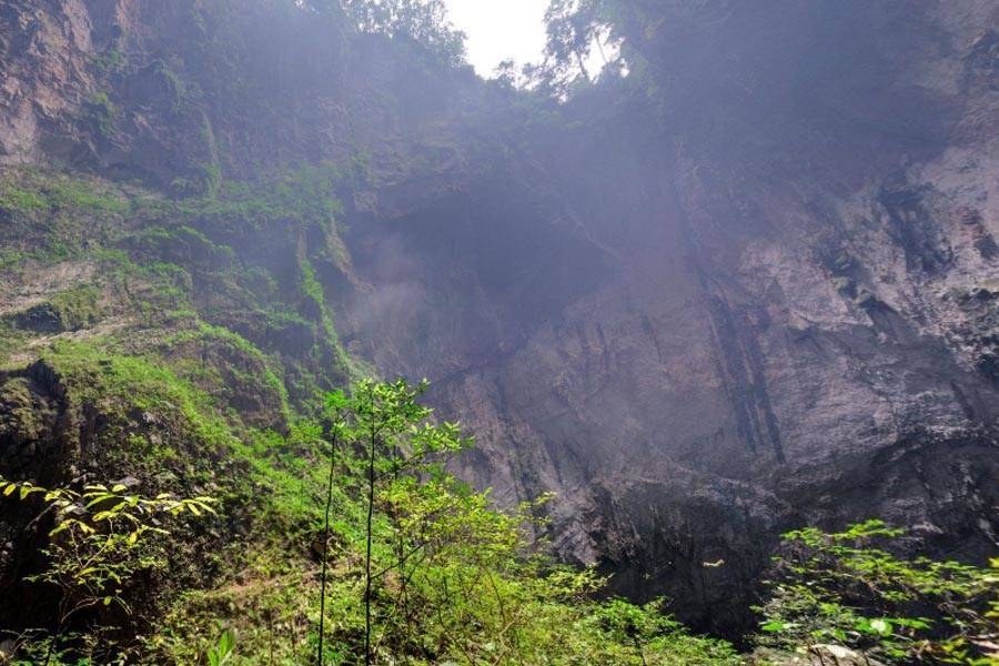 Opening Into Son Doong Cave