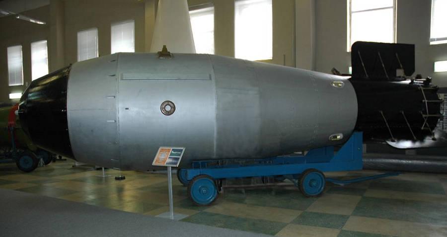 Recreation of the Tsar Bomba
