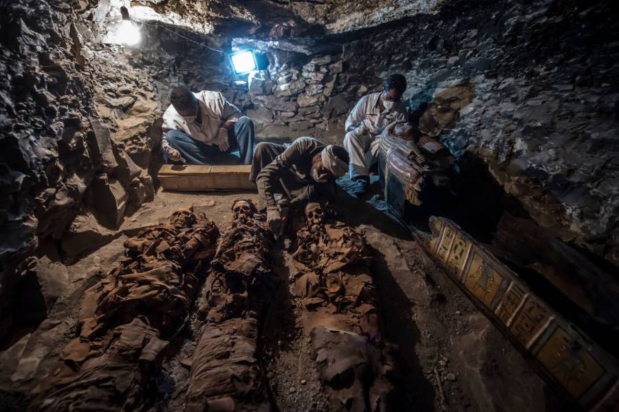 Unearthing Mummies