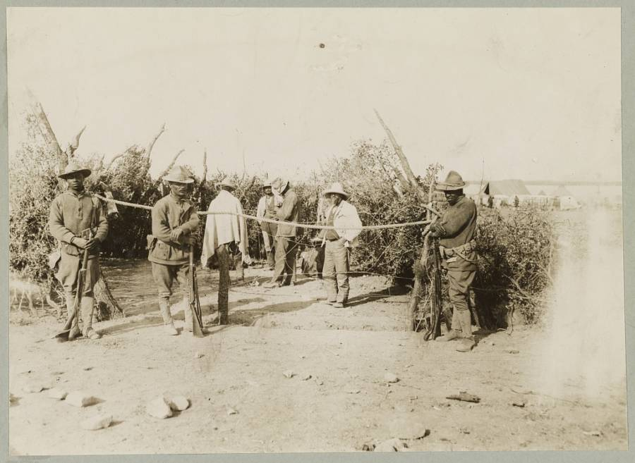 Mexican Expedition Prisoners Of War