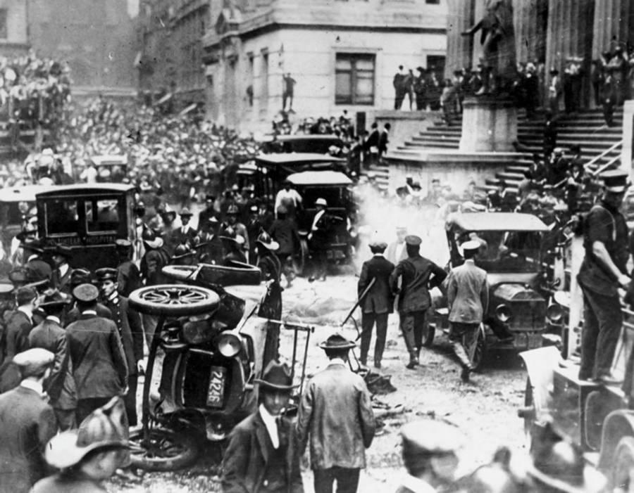 Wall Street Bombing 1920