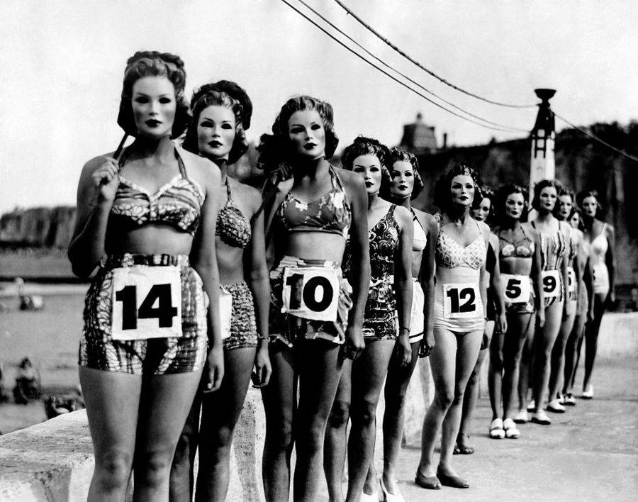 Weird Vintage Beauty Contests