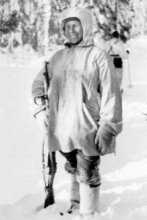 Winter War Simo Hayha