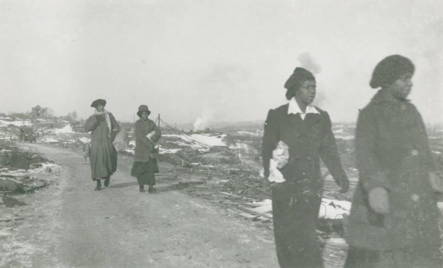 Women Leaving Africville