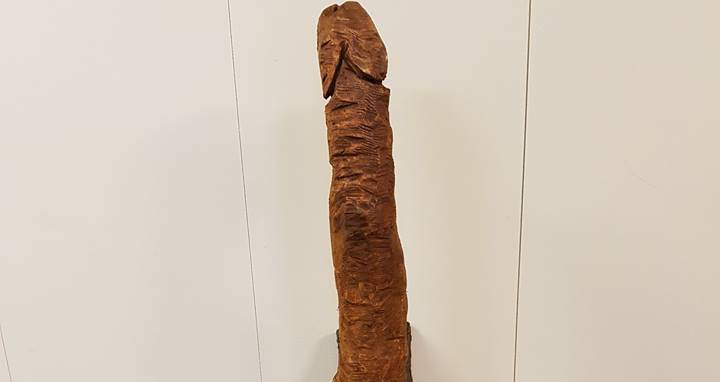Someone Is Leaving Giant Wooden Penises In A Park And Police Want To Know Who