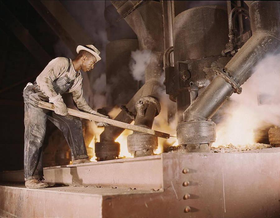 Ww2 Industry Steel Homefront