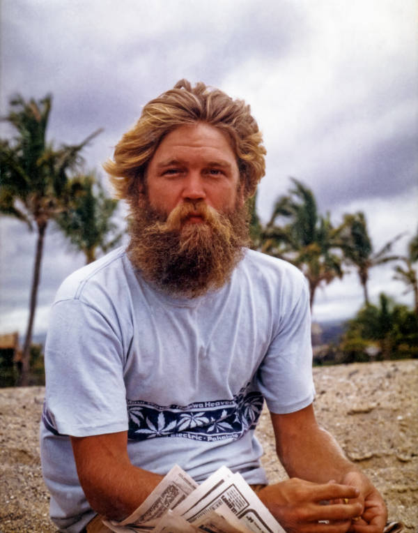70s Hawaii Beard