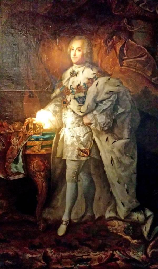 Adolf Friedrich painting