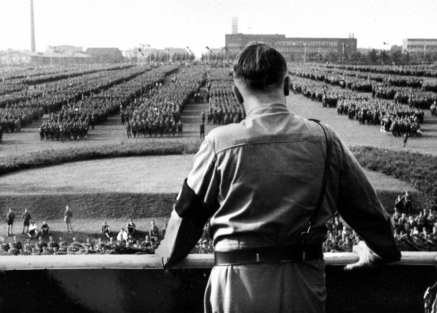 Adolf Hitler Back View