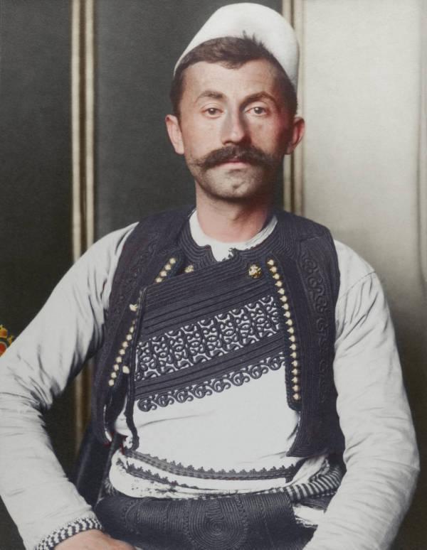 Albanian Soldier Portrait