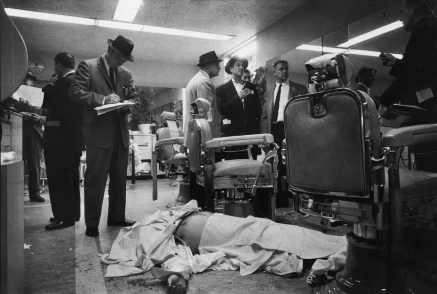 Albert Anastasia's Dead Body