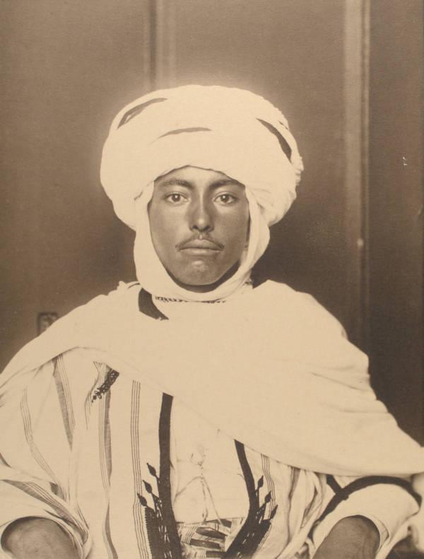 Algerian Man Face