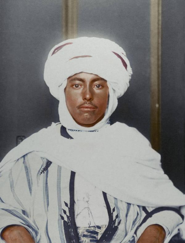 Algerian Man Portrait