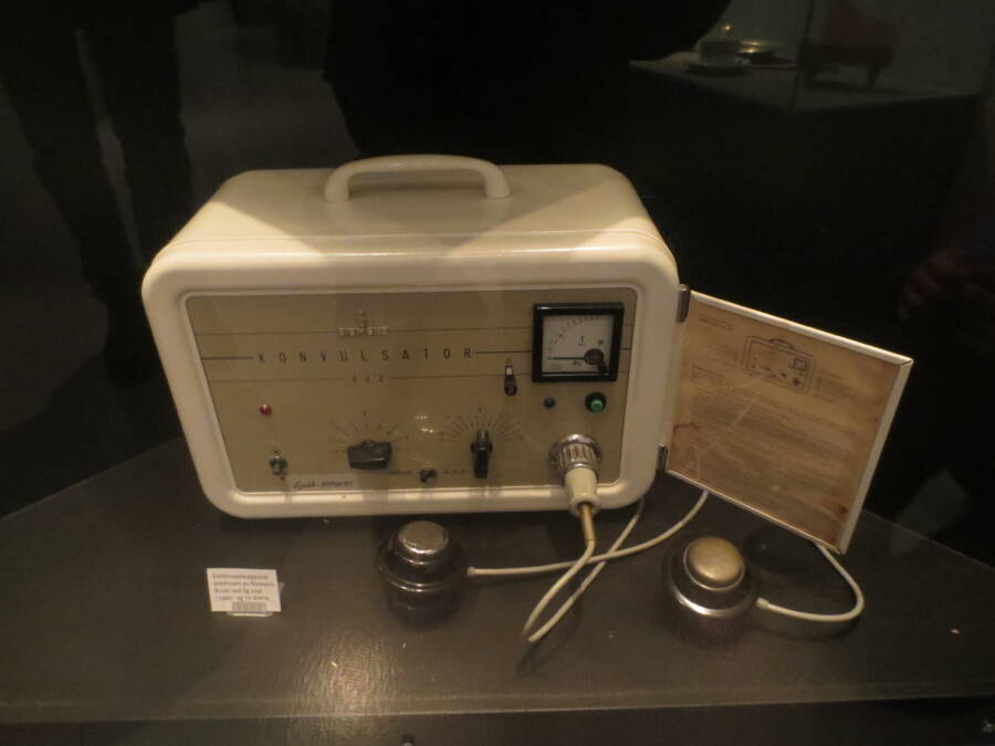 Electroconvulsive Device Used In Project MKUltra