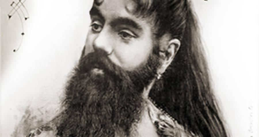 Annie Jones Bearded Woman