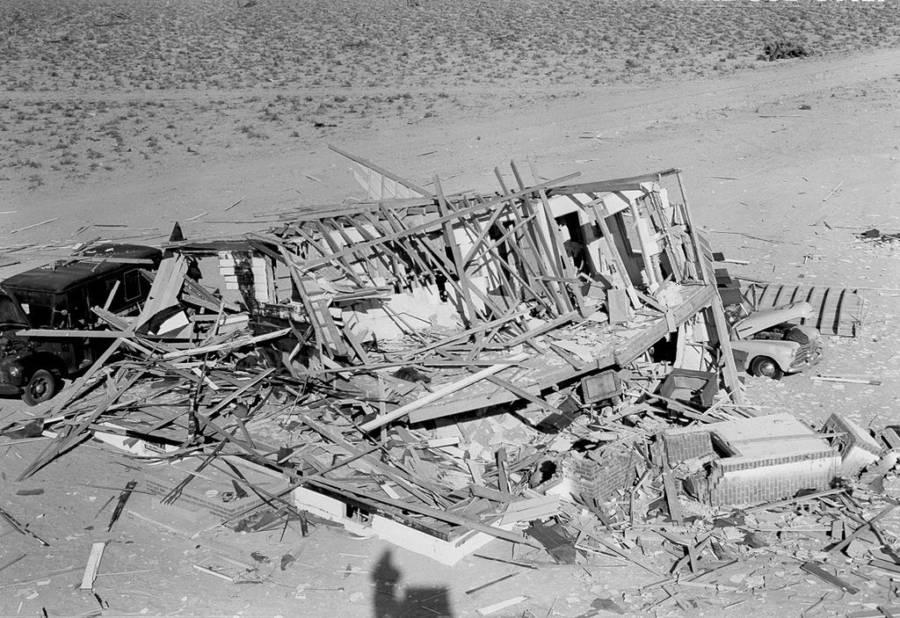 Atomic House Demolished House