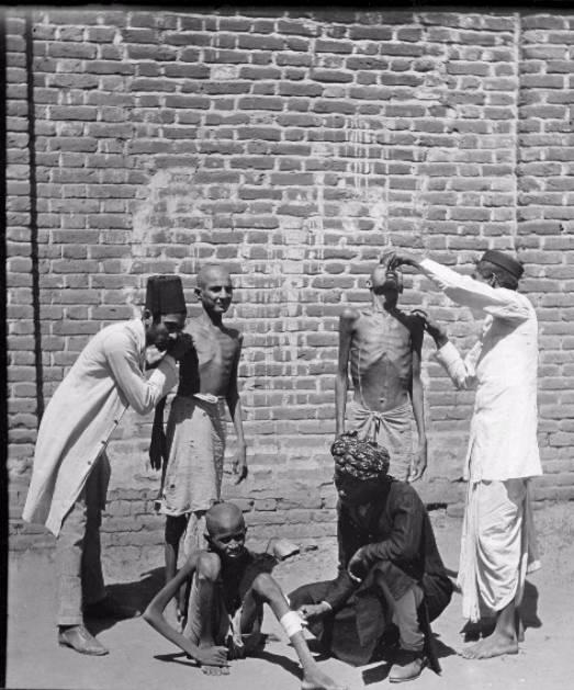 Bengal Famine Man Drink