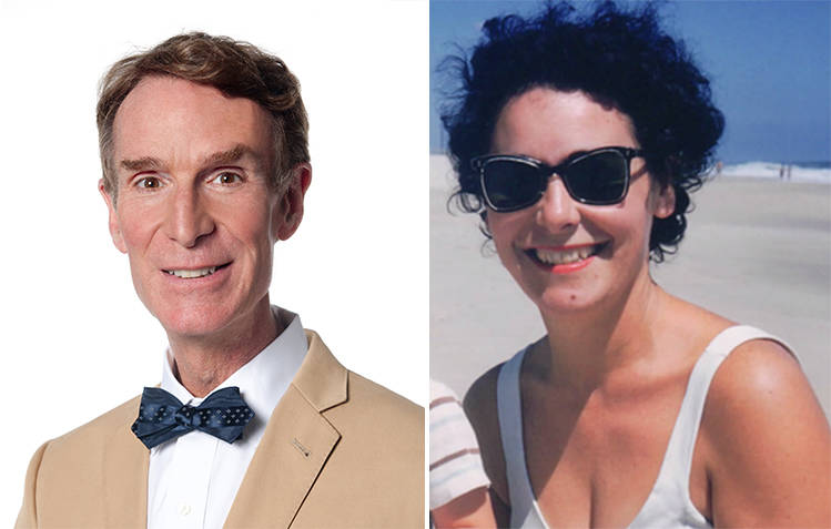 Bill Nye and Jacqueline Jenkins-Nye