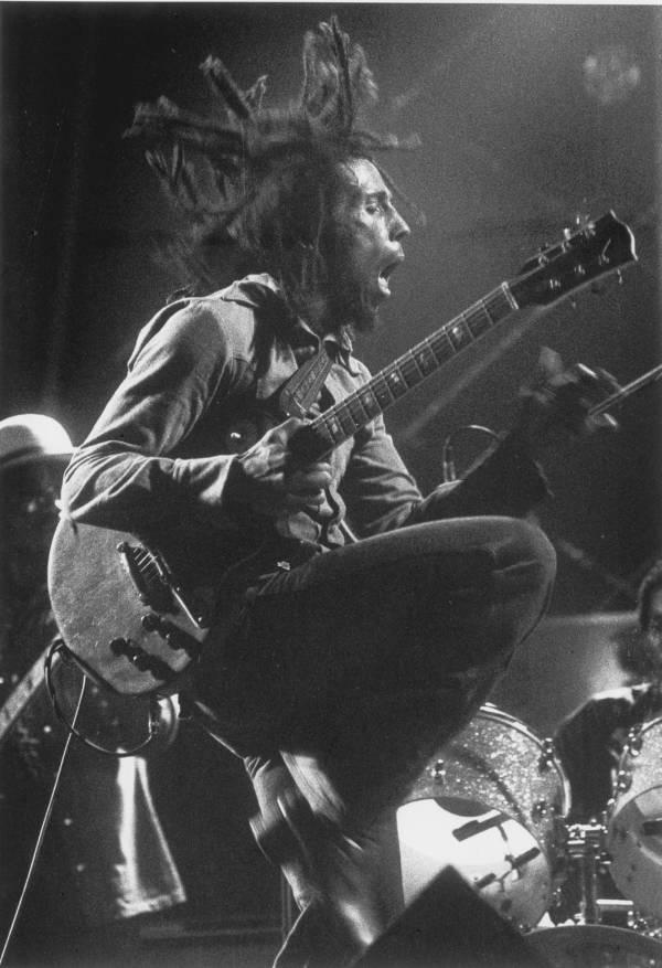 Bob Marley Jumping