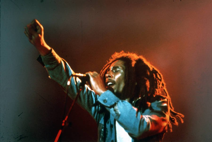 Bob Marley Photos Fist