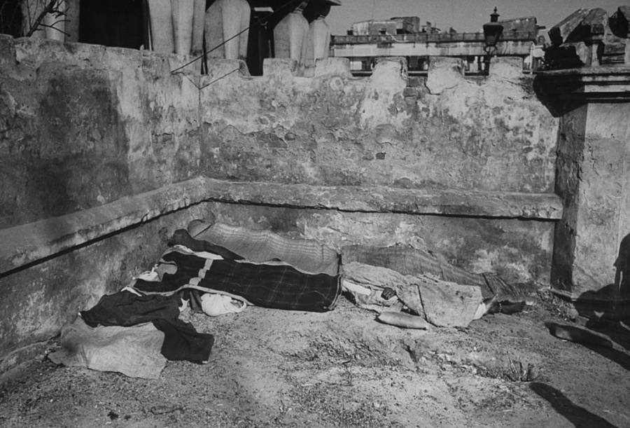 Bengali bodies under mats