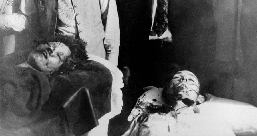 Bonnie And Clyde's deaths
