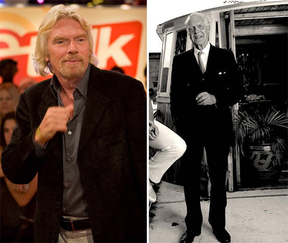 Richard Branson family