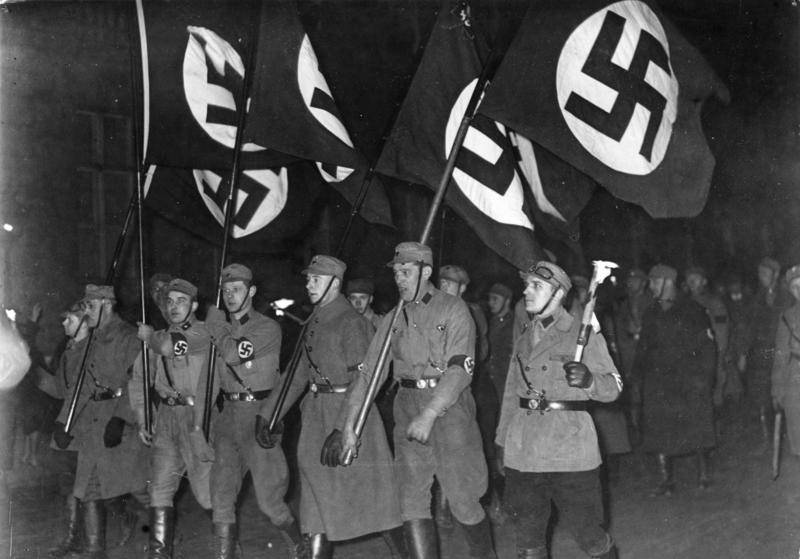 Brownshirts Celebrate Election