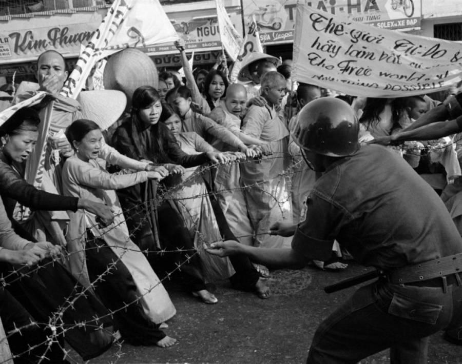 Buddhist Demonstration