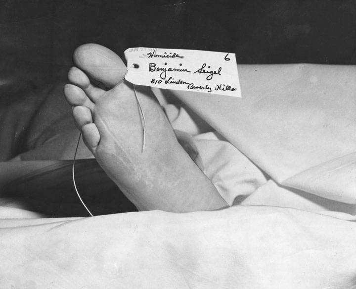 Bugsy Siegel Toe Tag