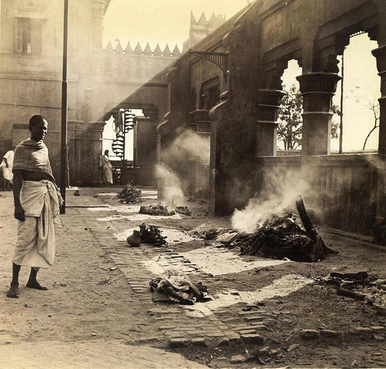 Burning Ghat For Dead