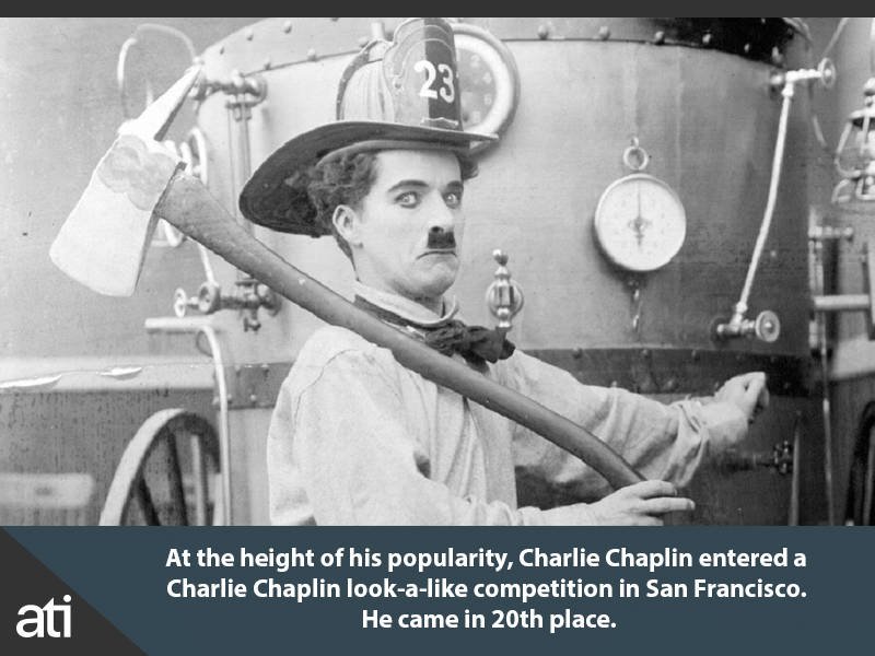 Charlie Chaplin Look A Like Contest