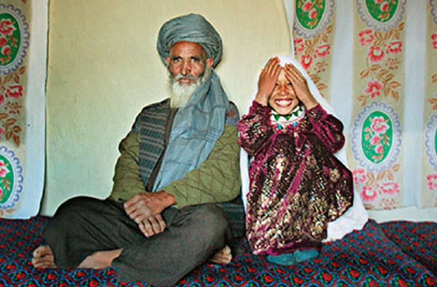 Child Marriages Afghan Couple