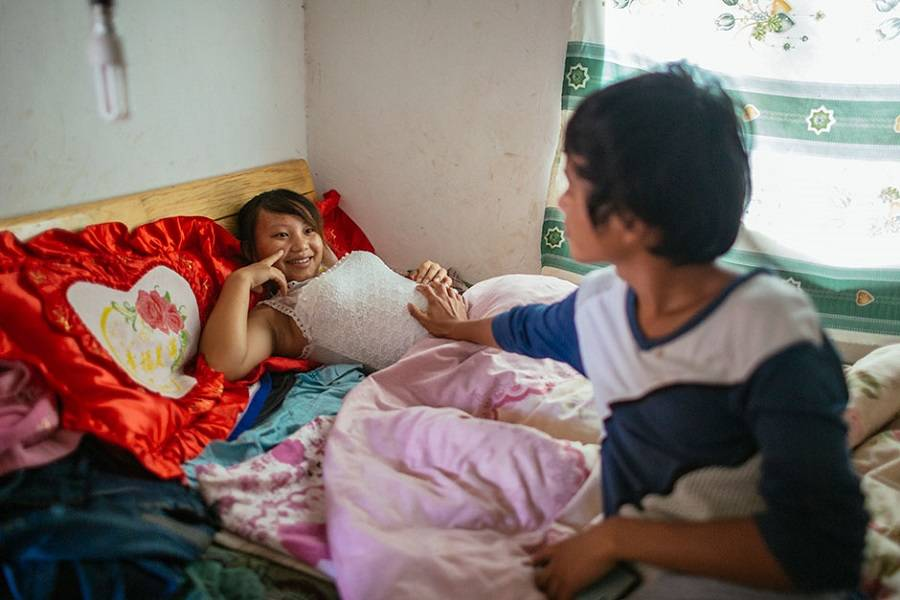 Child Marriages Chinese Couple