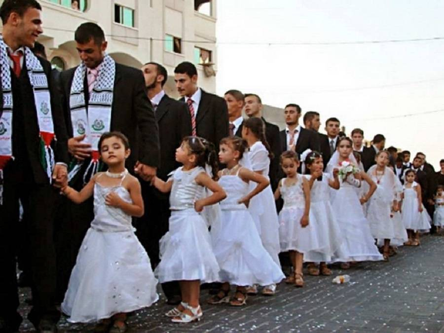 Child Brides In Gaza