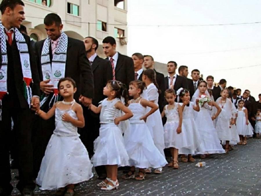 Child Brides In Gaza